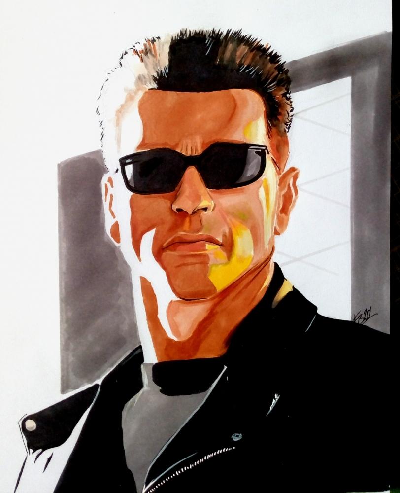 Arnold Schwarzenegger par 13thmonkey